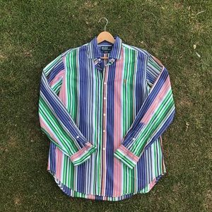 Other - Vintage Polo Ralph Lauren LG Striped Long Sleeve